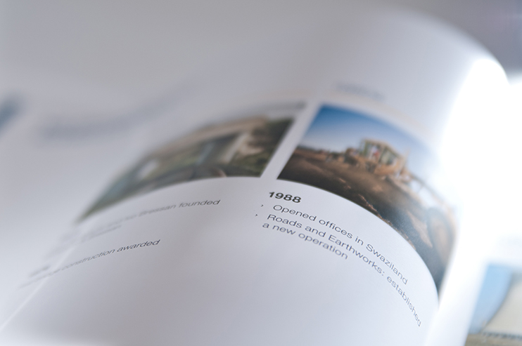 Stefanutti Stocks 2013 annual report integrated report annual integrated report financial results Sigil Design Bureau Rosalie Pike
