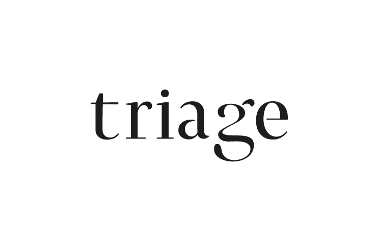 Triage, typography, curves, logo, letter g, G, tri,